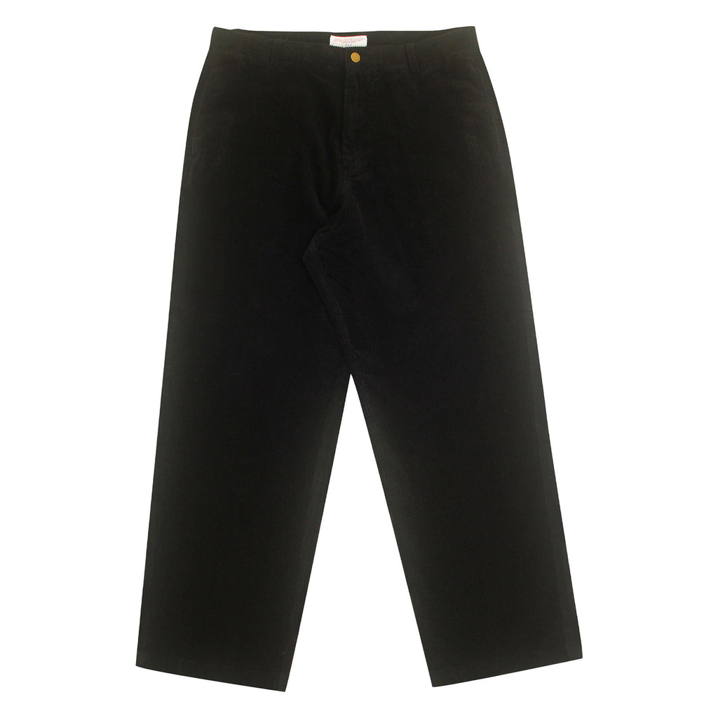 Yardsale Corduroy Slack Trousers in Black / White