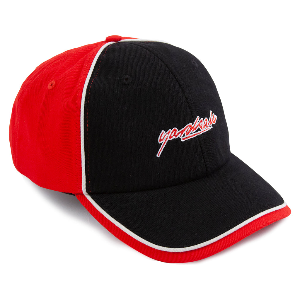 Yardsale Pipeline Cap in Black / Red - Front