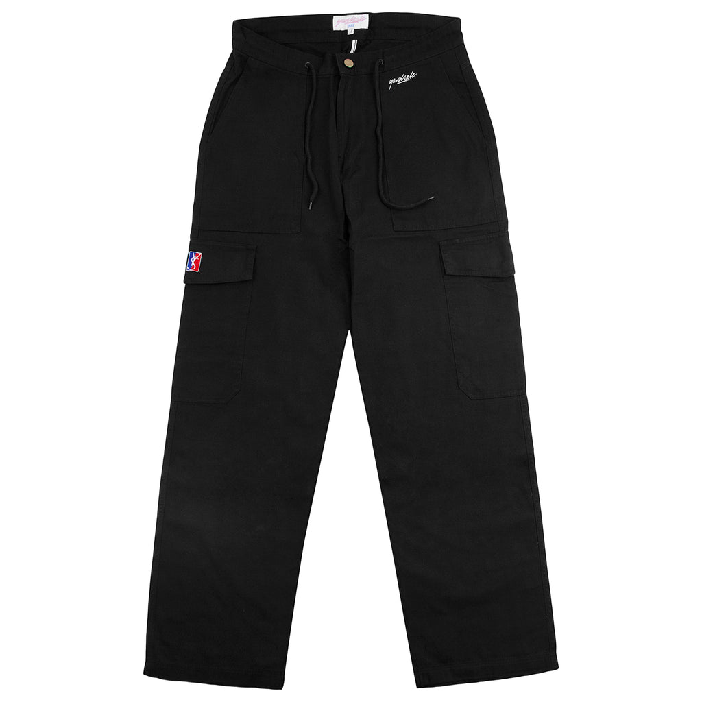 Yardsale Tommy Cargo Pants Black - Front