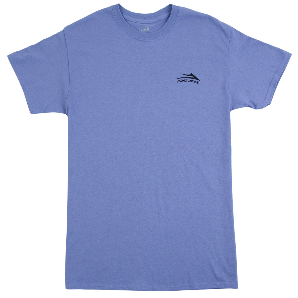 Lakai Yonnies Super Store T Shirt in Lilac - Front