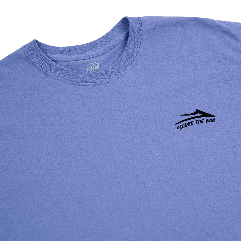 Lakai Yonnies Super Store T Shirt in Lilac - Detail