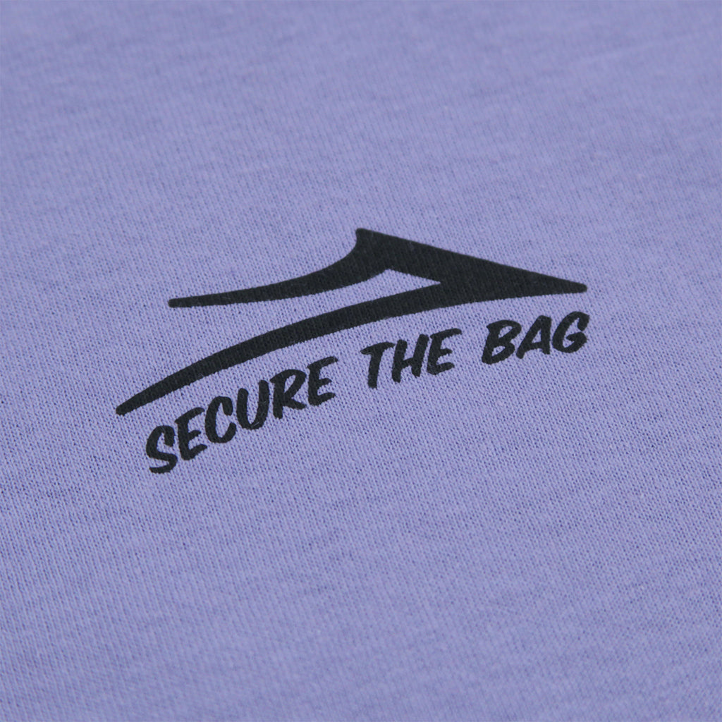 Lakai Yonnies Super Store T Shirt in Lilac - Print