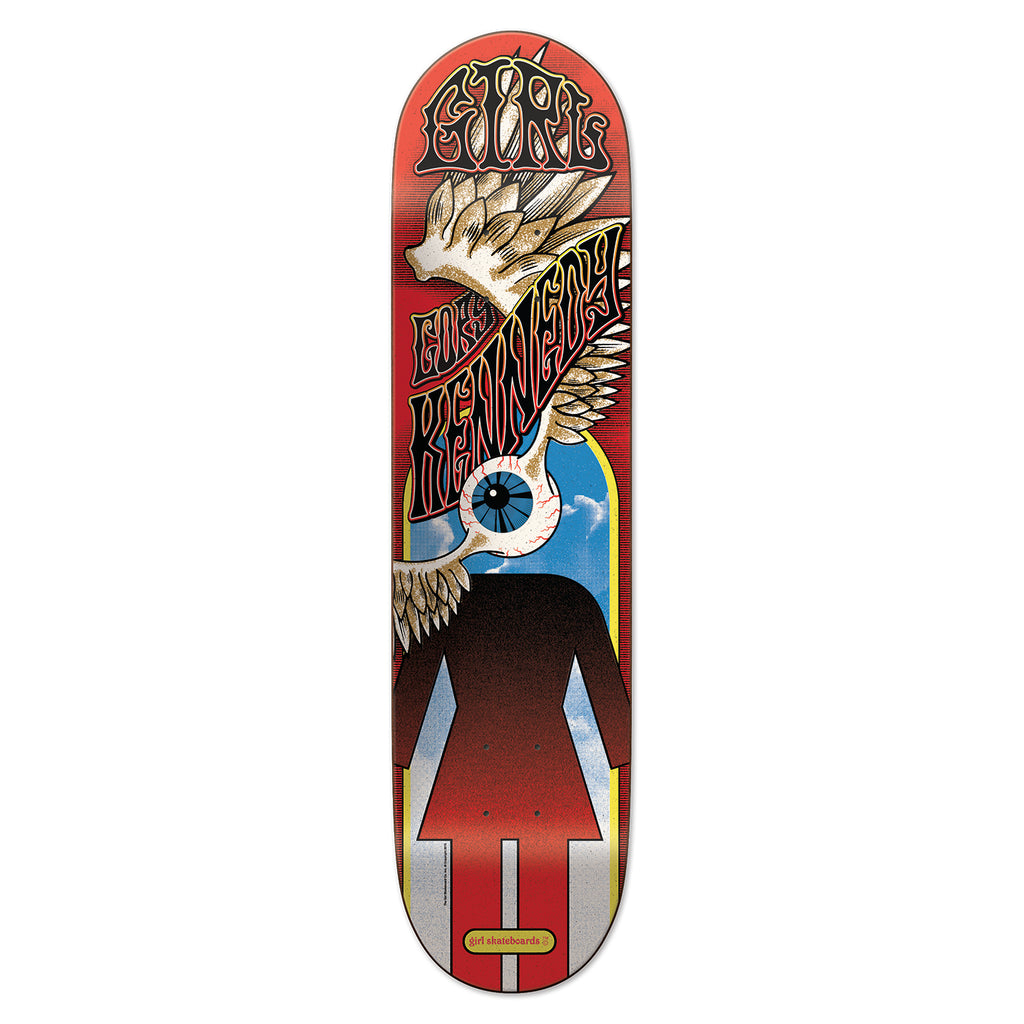 Girl Skateboards Fillmore Cory Kennedy Deck in 8.5""