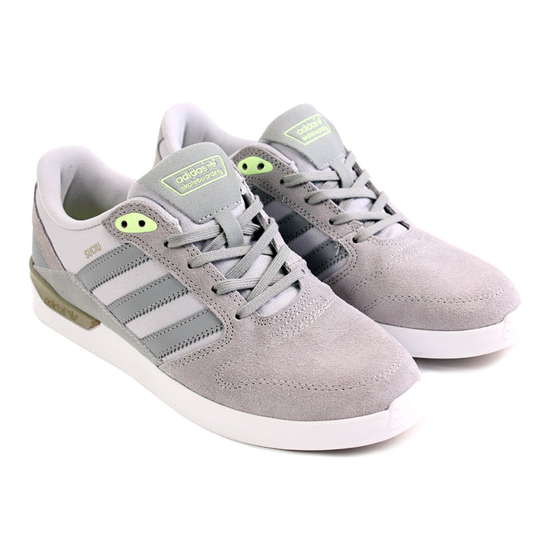 Adidas Skateboarding ZX Vulc Mark Suciu Shoes in Solid Grey/Light Onyx - Pair
