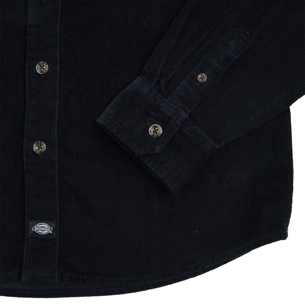 Dickies Arthurdale Shirt in Dark Navy - Cuff
