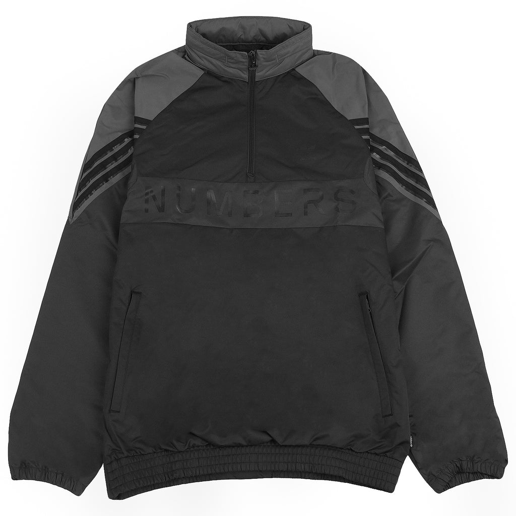 Adidas x Numbers Edition Track Top in Black / Grey Five / Carbon