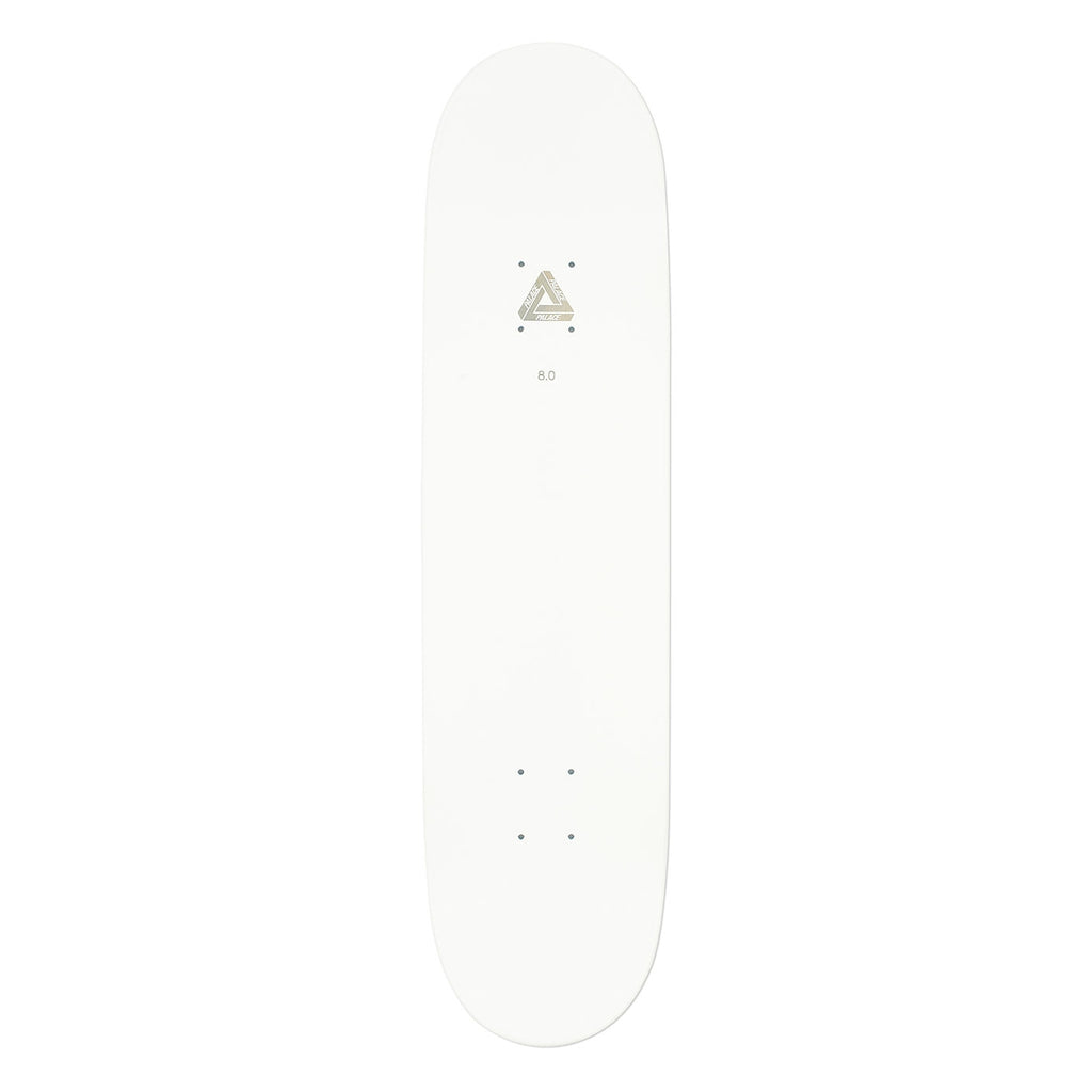 "Palace Pal Ice Skateboard Deck in 8"" - Top"