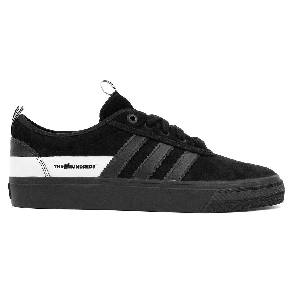 Adidas Skateboarding Adi Ease x Hundreds Shoes in Core Black/FTW White