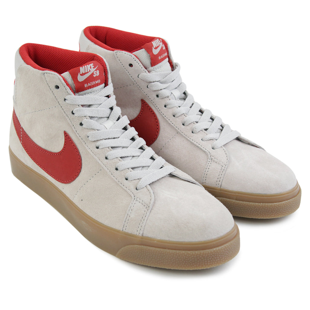 online retailer fb240 64c32 FTC Blazer Zoom Mid QS Shoes in Light Bone / Brickhouse by ...