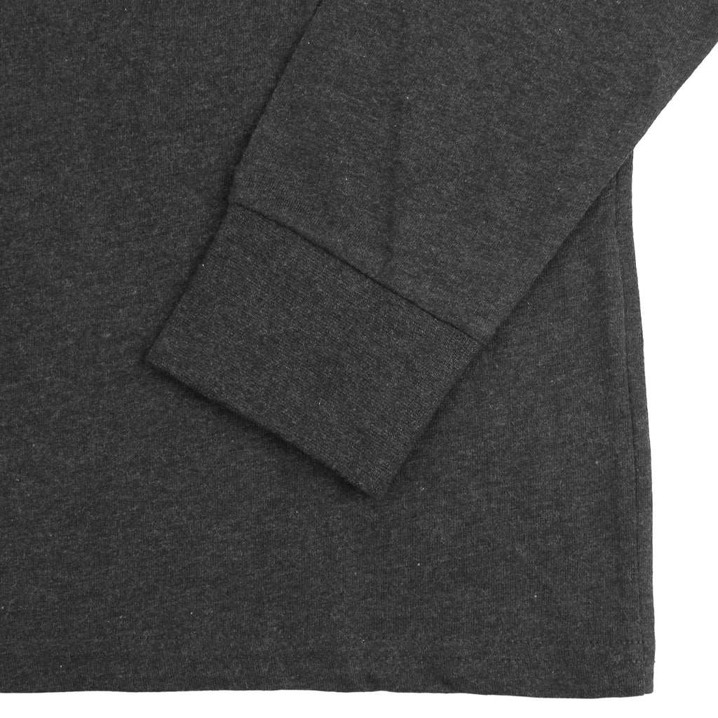 Carhartt WIP L/S Pocket T Shirt in Black Heather - Cuff