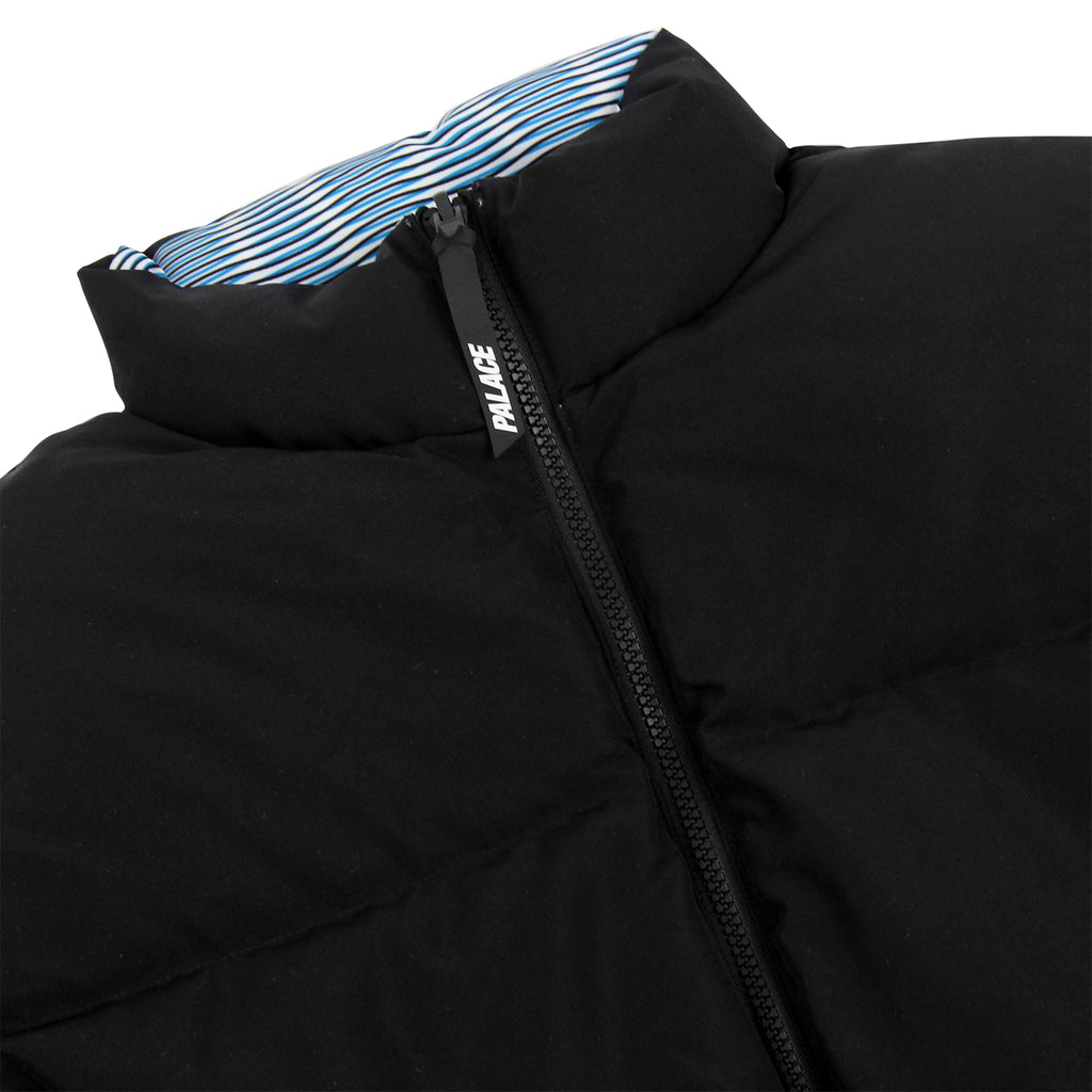 Palace x Adidas Reversible Down Jacket in Multi Colour / Black - Reverse Detail
