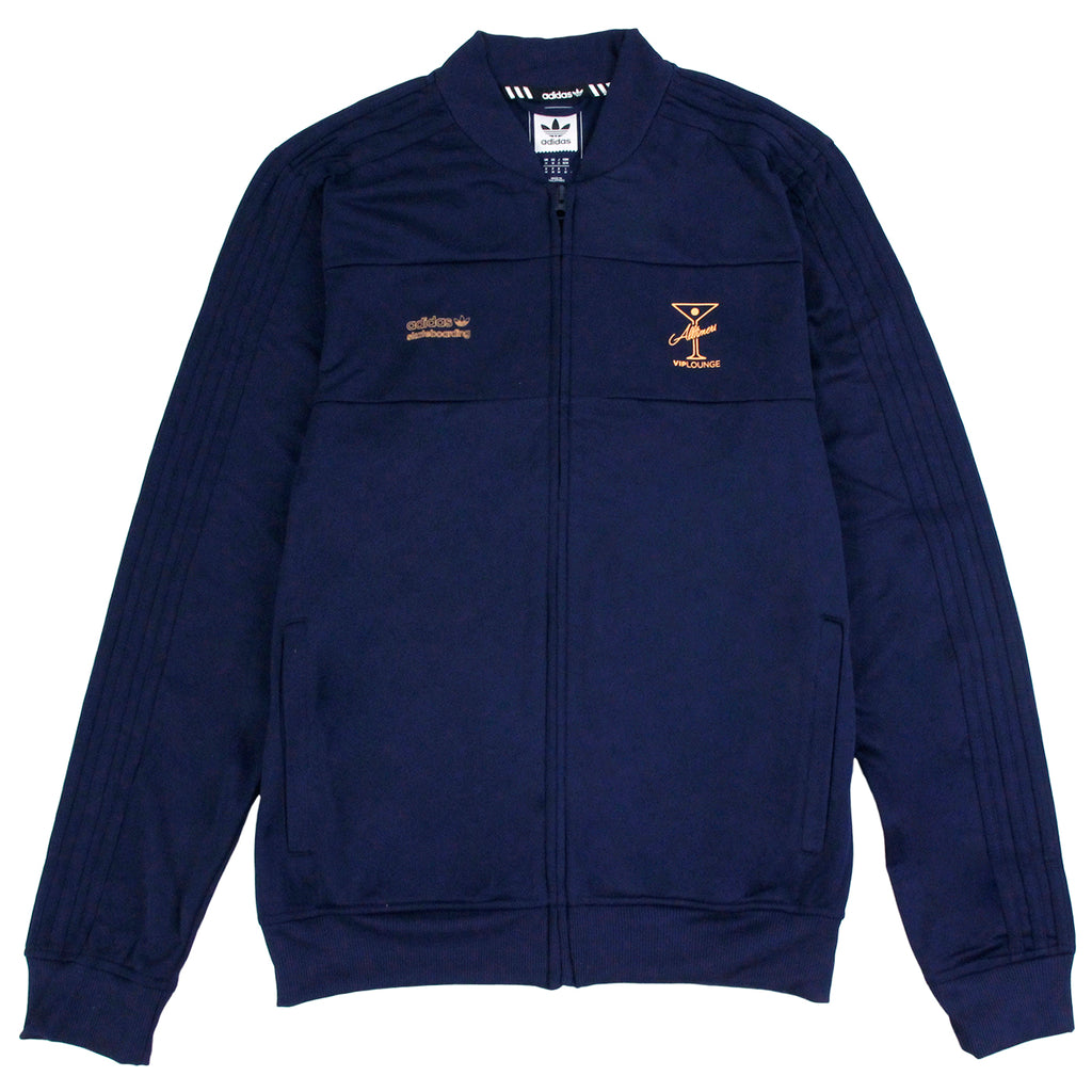 Adidas Skateboarding x Alltimers Track Jacket in Collegiate Navy