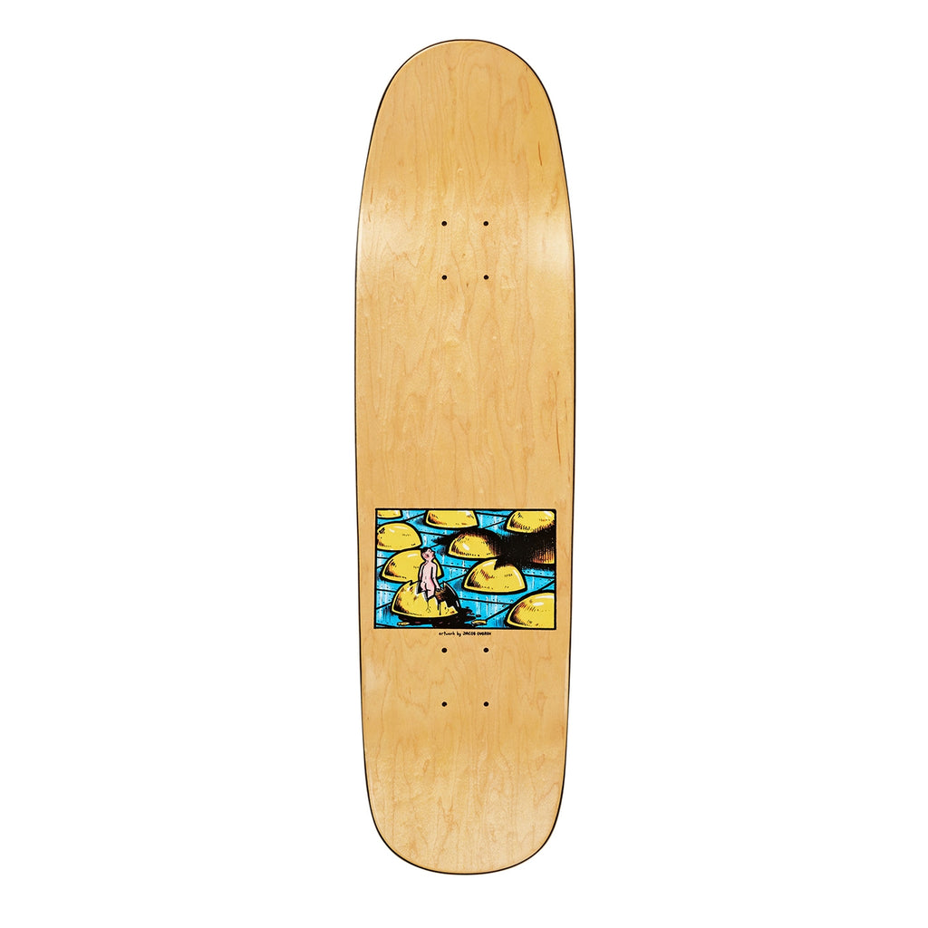 "Polar Skate Co Oskar Rozenberg Dragon's Nest P9 Skateboard Deck in 8.625"" - Top"