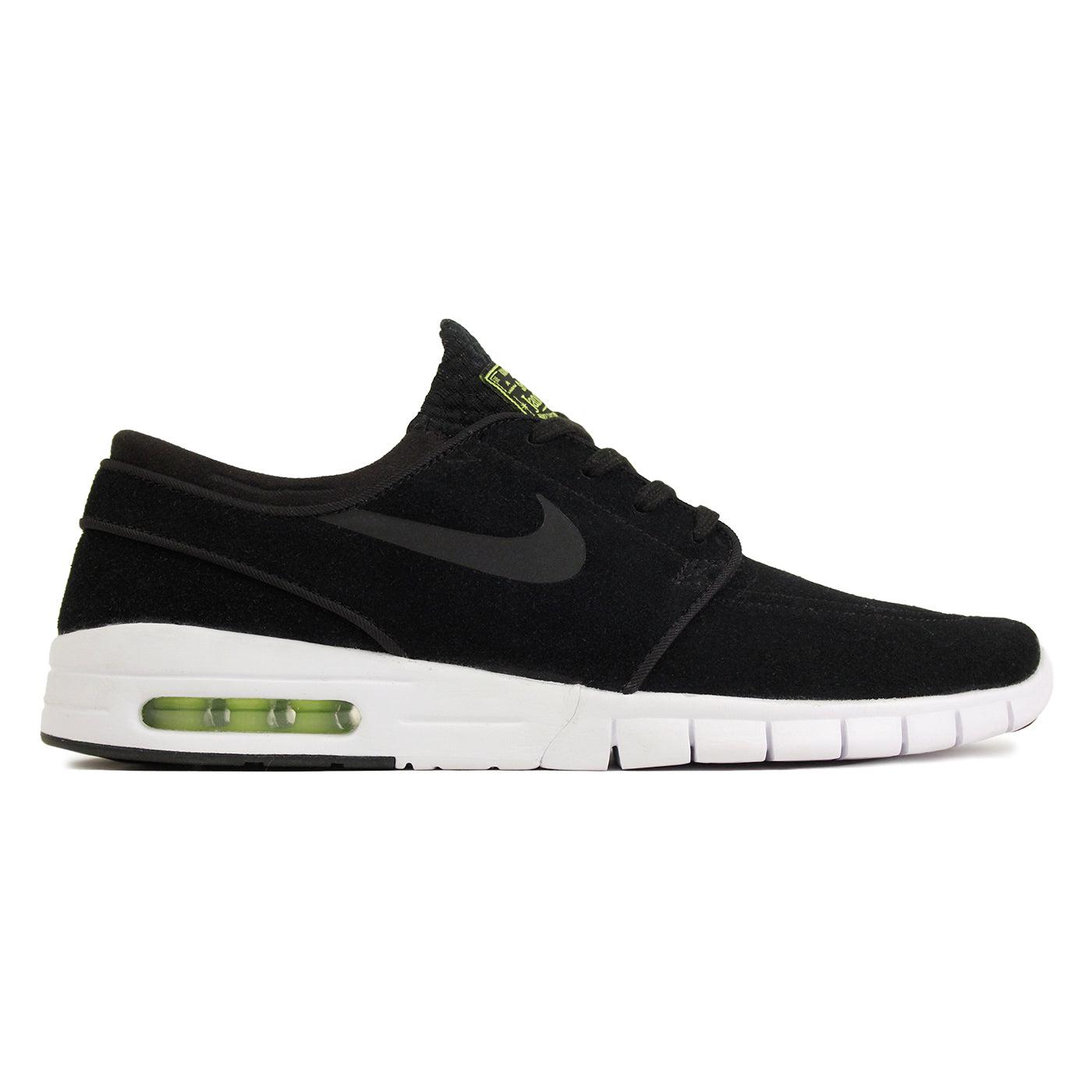 buy popular 865df acb54 Nike SB Stefan Janoski Max L Shoes - Black   Black   Cyber   White