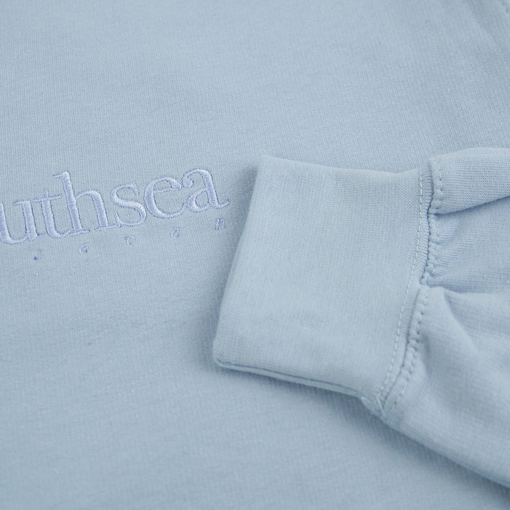 Bored of Southsea Hammer Sweatshirt in Sky Blue / Sky Blue - Cuff