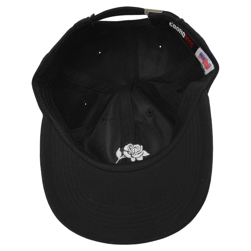 5Boro 5B Rose Cap in Black - Inside