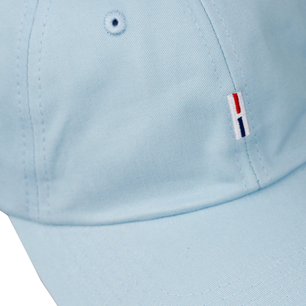 Helas H 6 Panel Cap in Pastel Blue - Detail
