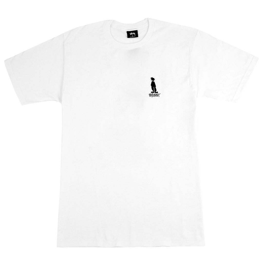 Stussy Raggamon T Shirt in White - Front