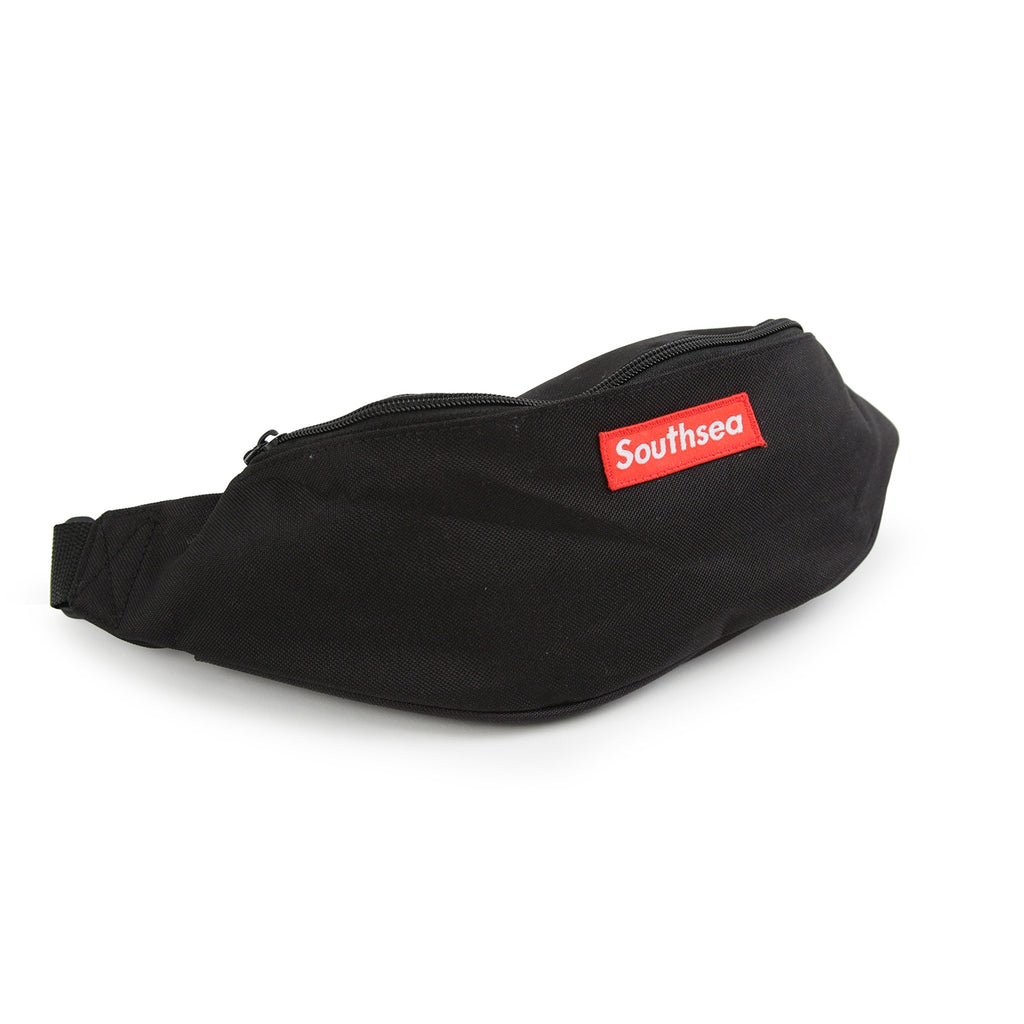"Bored of Southsea ""Southsea"" Clip Bag in Black"