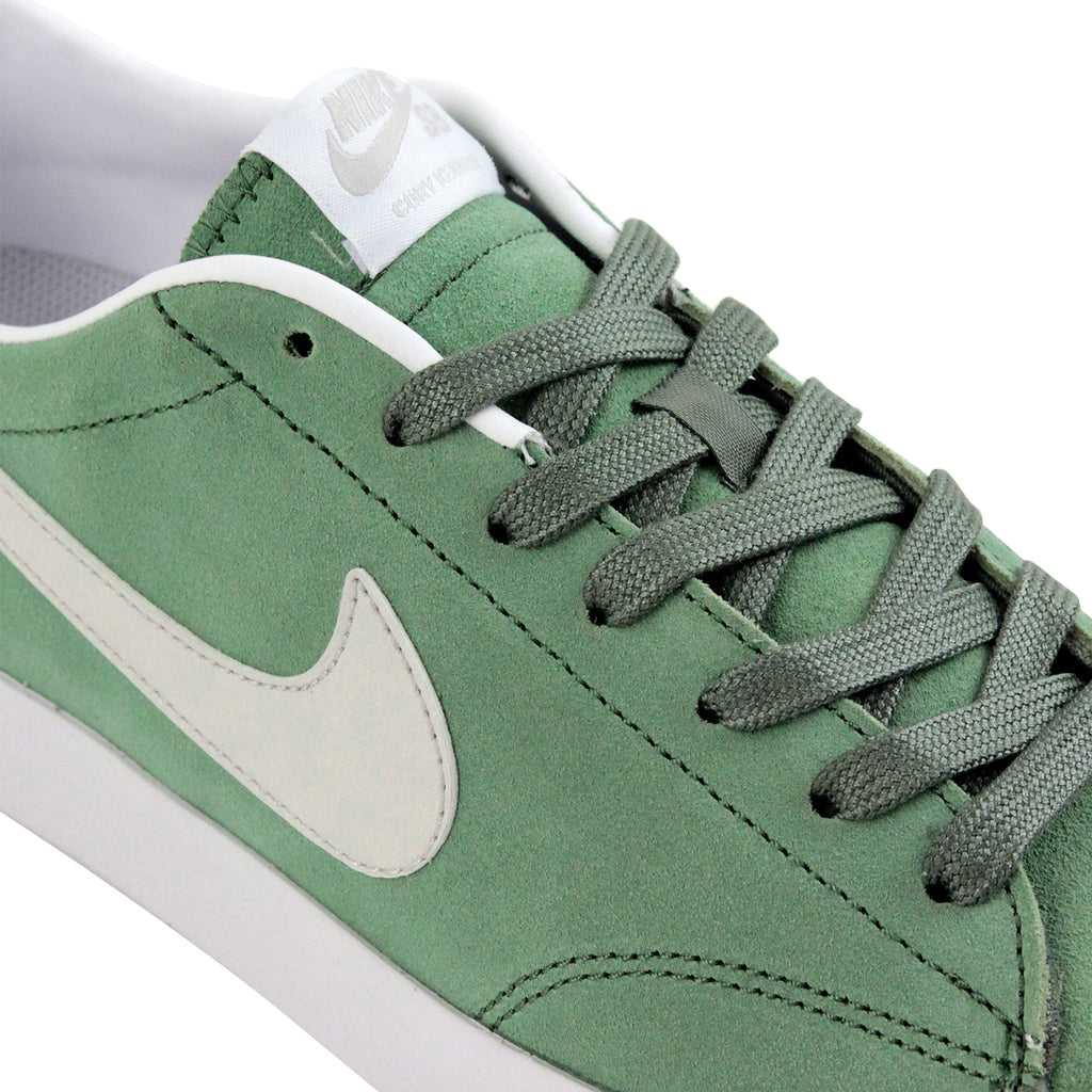 Nike SB Cory Kennedy Shoes in Treeline / Light Bone - White - Laces