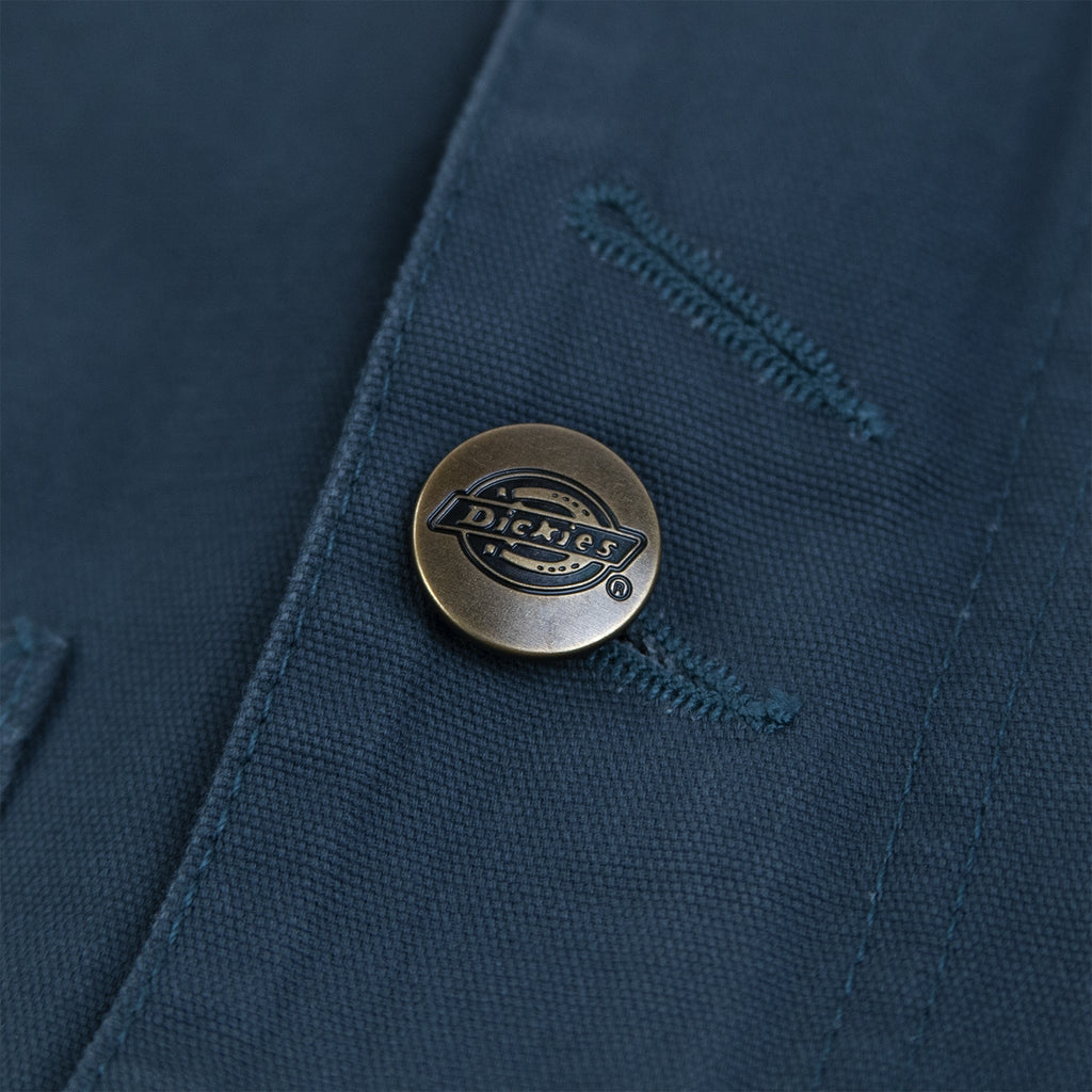 Dickies Norwood Jacket in Teal - Button