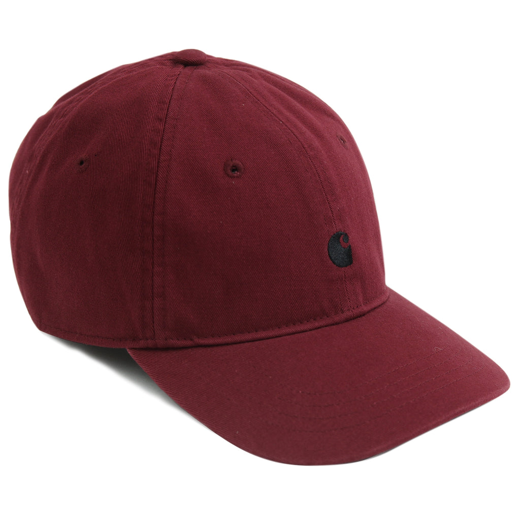 Carhartt Madison Logo Cap in Mulberry / Black