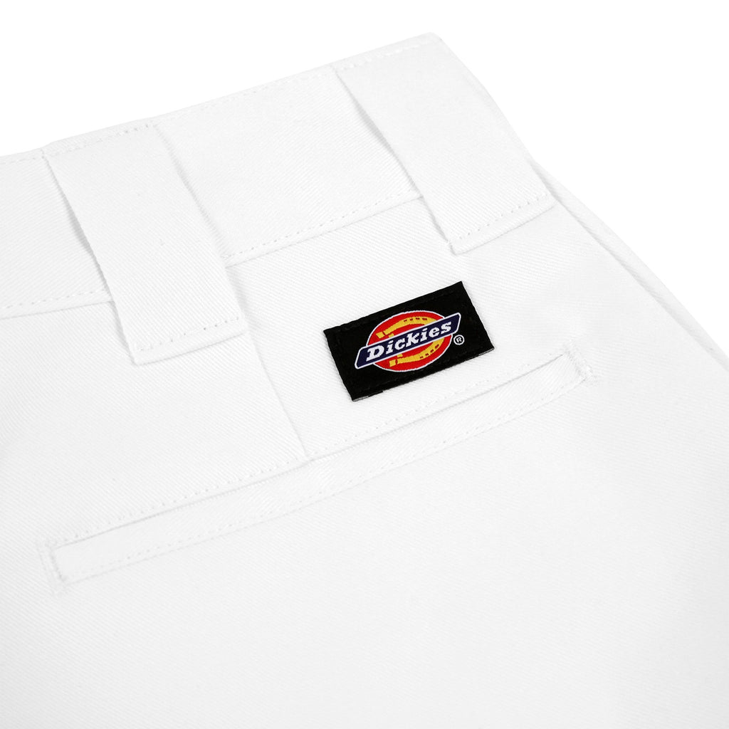Dickies 873 Slim Straight Work Pant in White - Label