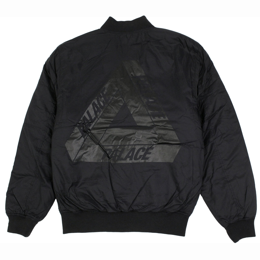 Palace Thinsulate Bomber Jacket in Anthracite - Back