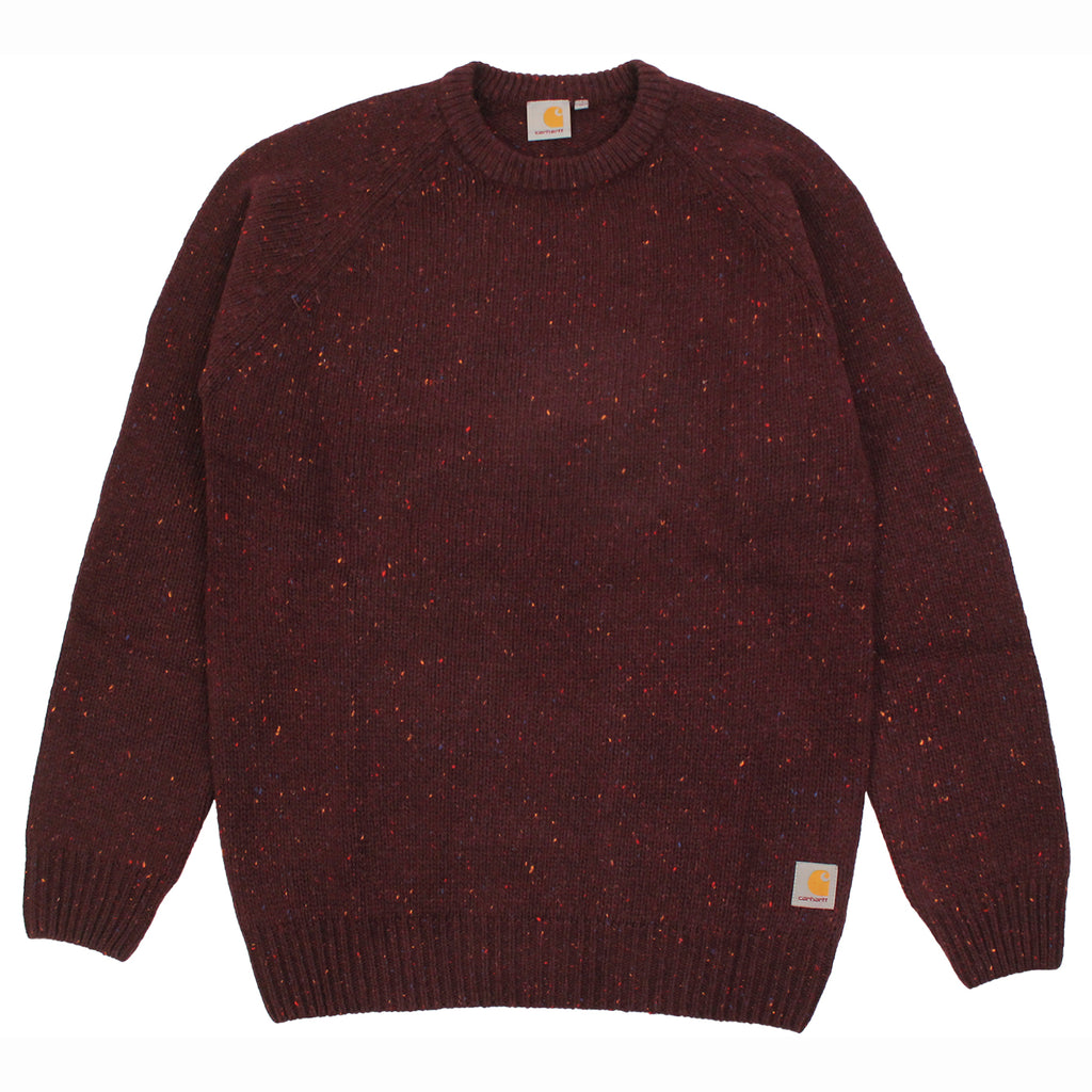Carhartt Anglistic Sweater in Damson Heather