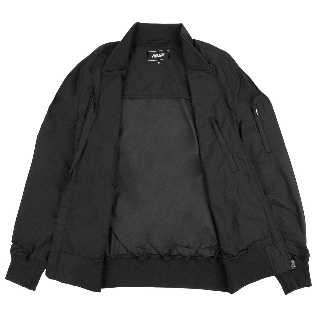 Palace Bomber Jacket in Anthracite - Open