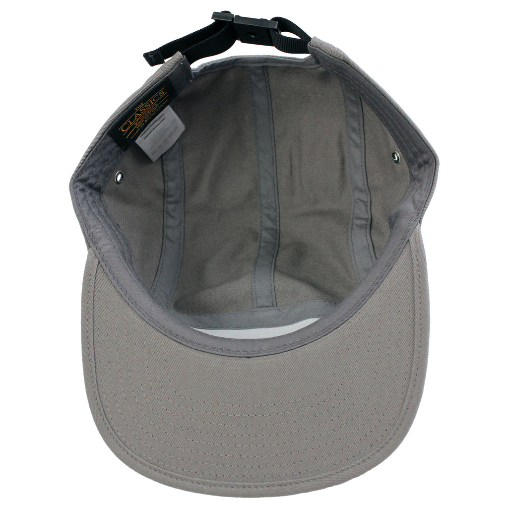 14:01 Skateboard Co BACK2BASICS 5 Panel Cap in Grey  - Inside
