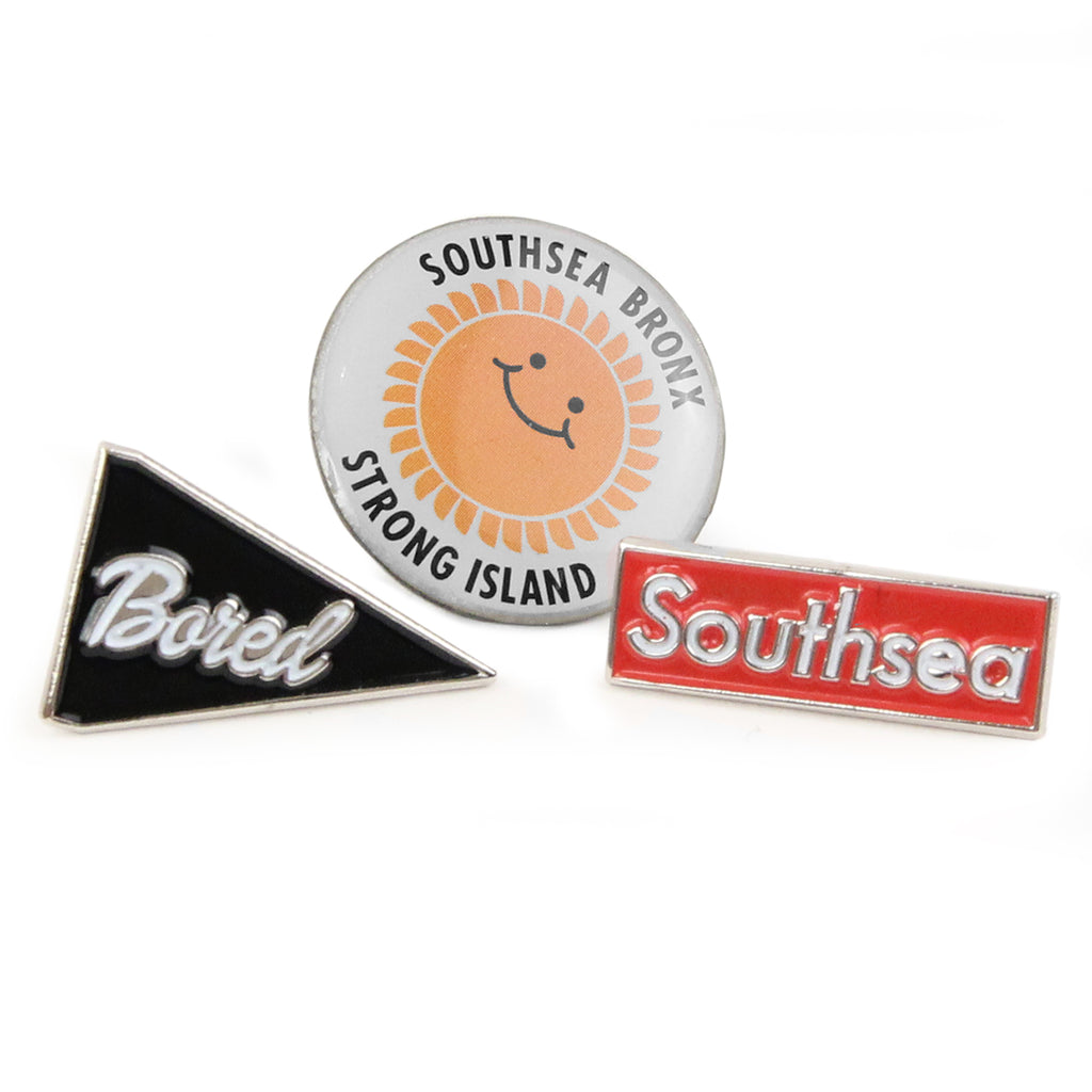 Bored of Southsea Pin Badge Set