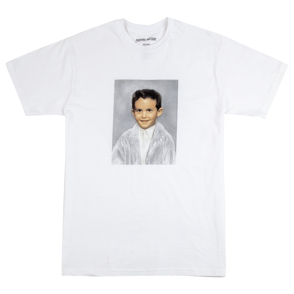 Fucking Awesome Dylan T Shirt in White