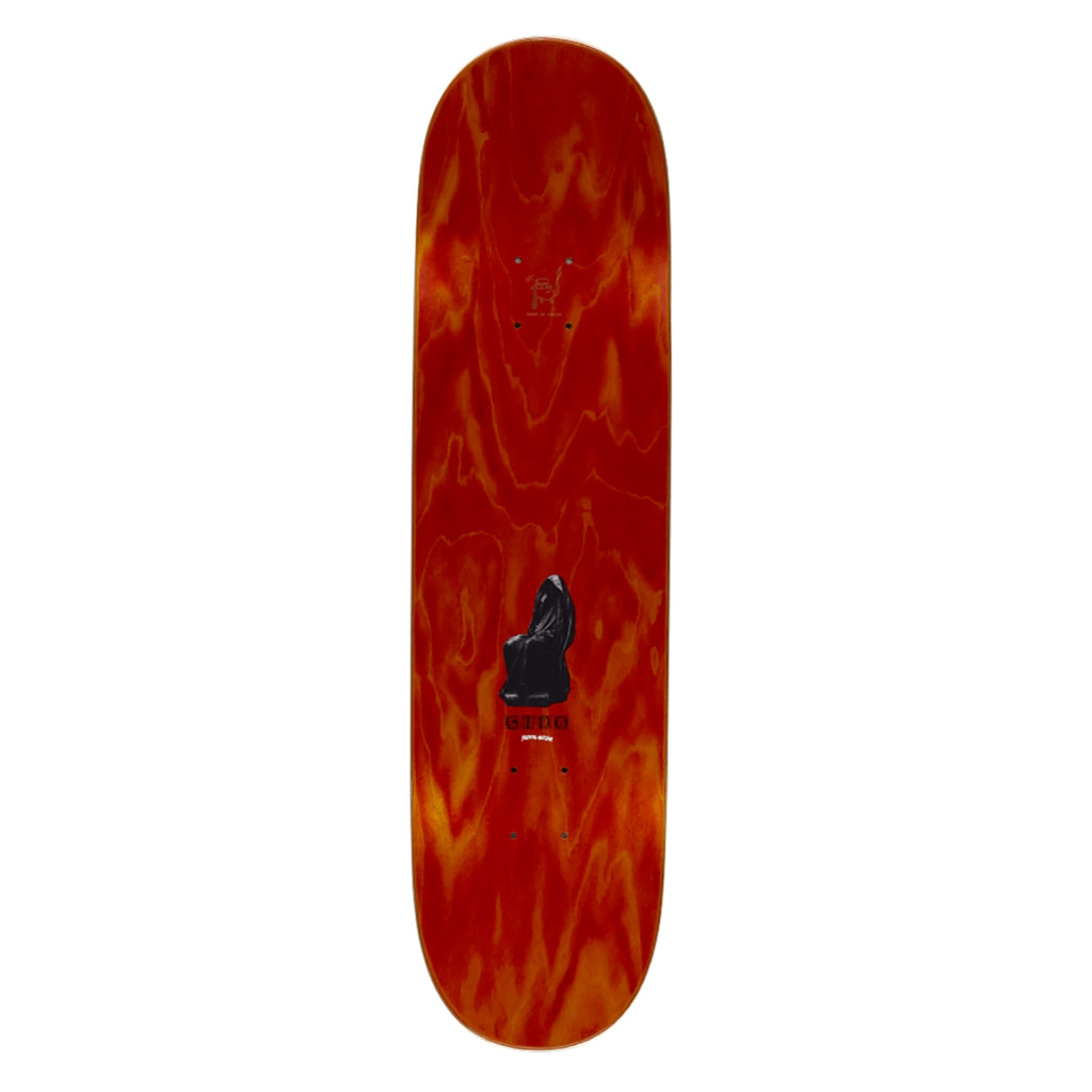 "Fucking Awesome Gino Statue Skateboard Deck in 8.25"" - Top"