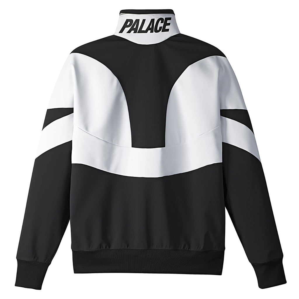 Palace x Adidas Heavy Half Zip Jacket in White / Black