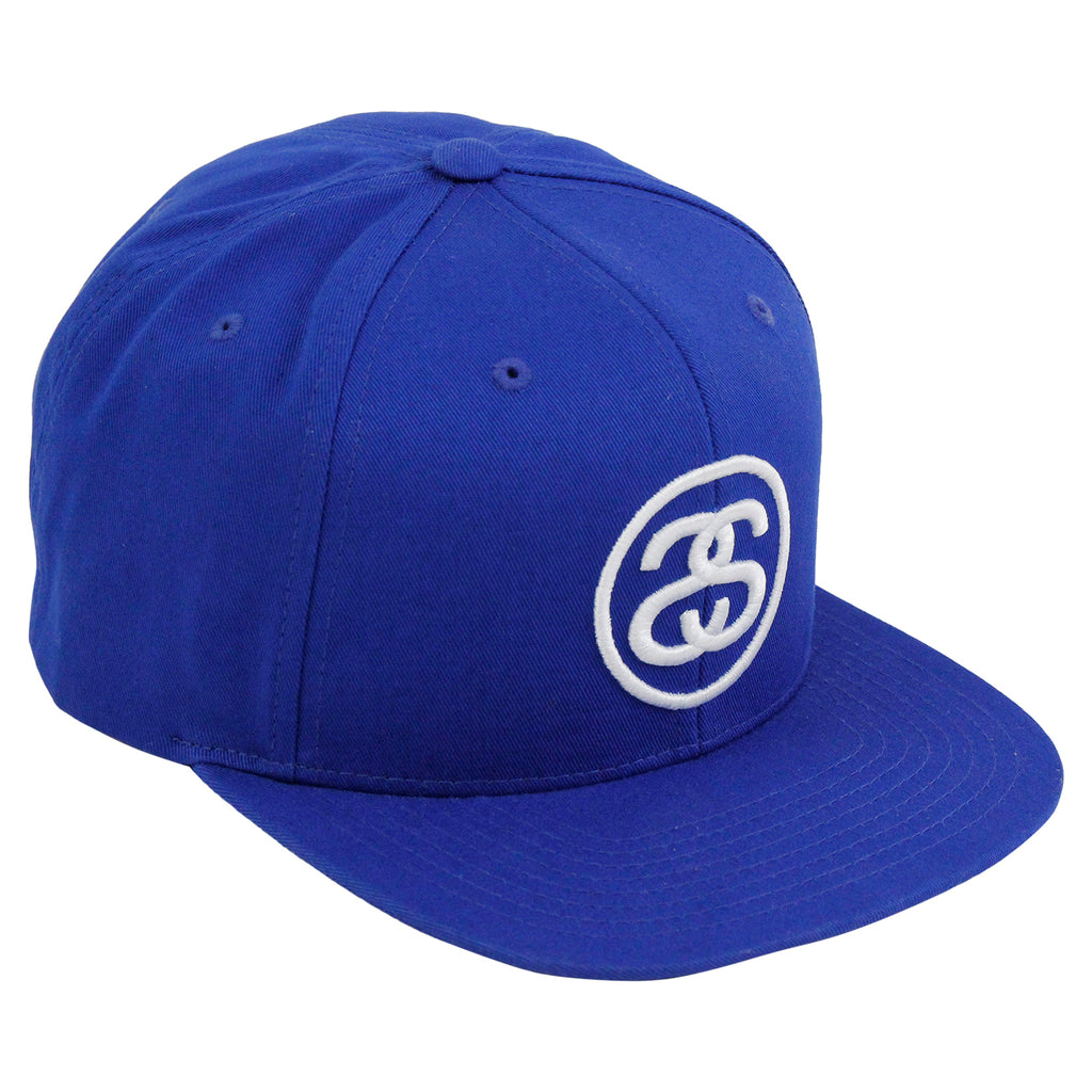 Stussy SS Link Snapback in Royal Blue