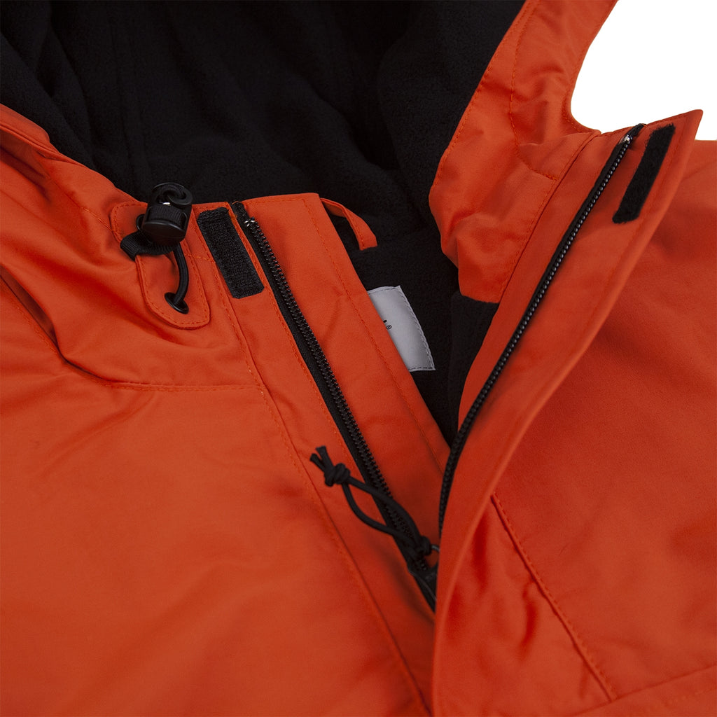 Carhartt Nimbus Pullover Jacket in Persimmon - Neck
