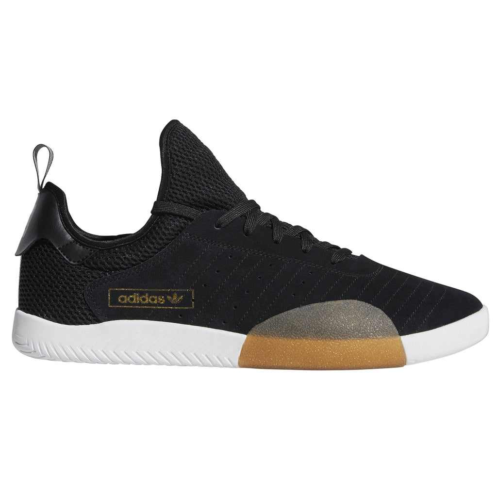 Adidas 3ST.003 Shoes in Core Black / Light Granite / Footwear White