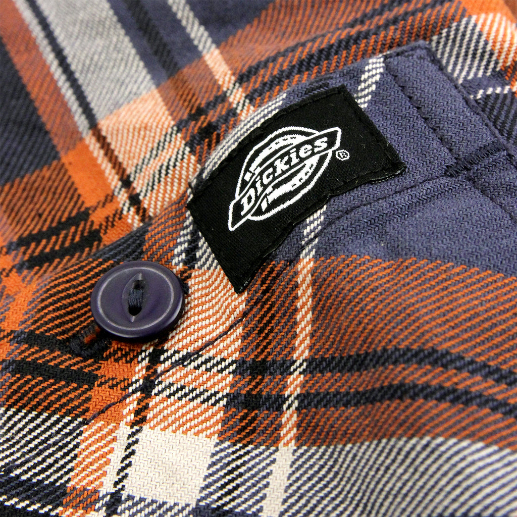 Dickies Atwood Shirt in Air Force Blue - Patch