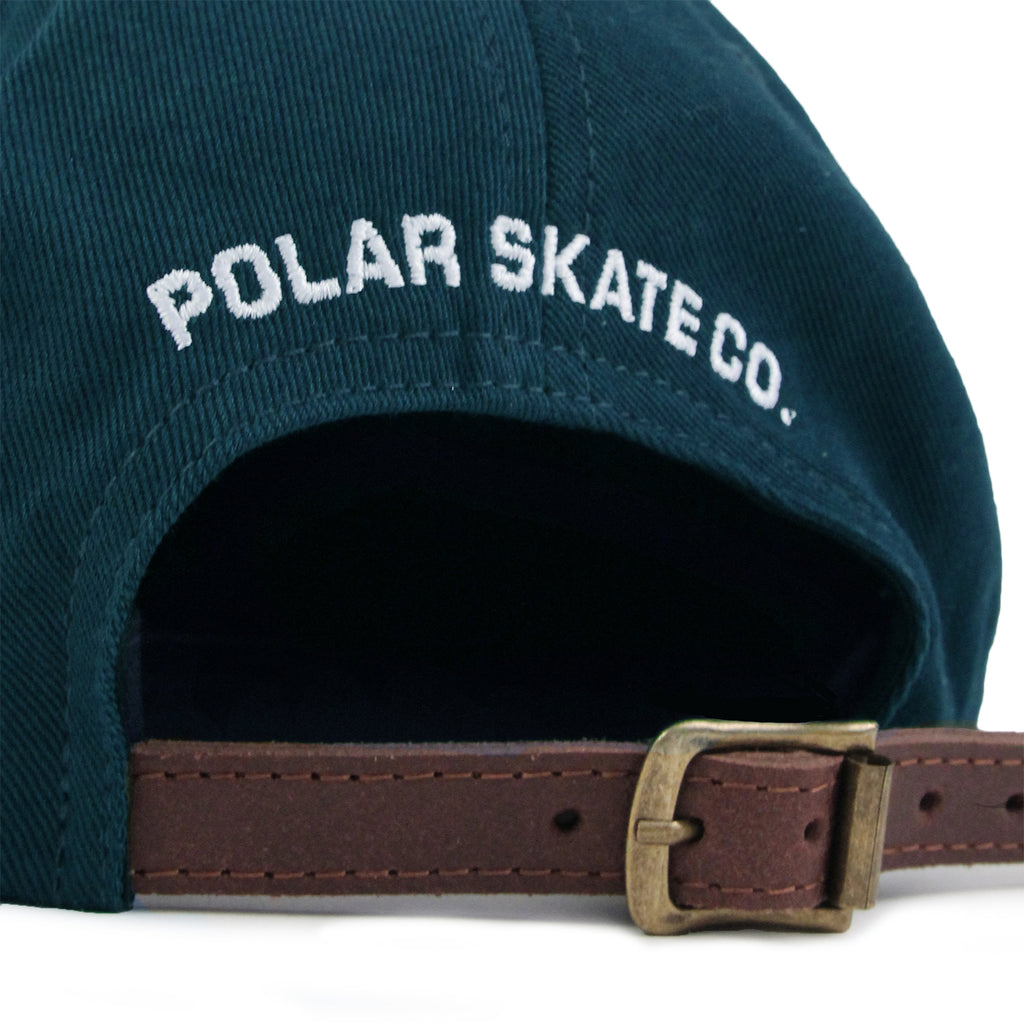 Polar Skate Co No Comply Cap in Pastel Blue - Strap