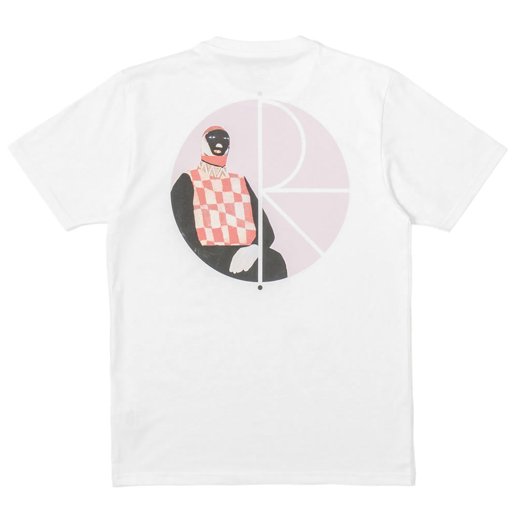 Polar Skate Co AMTK Sitting Figure T Shirt in White