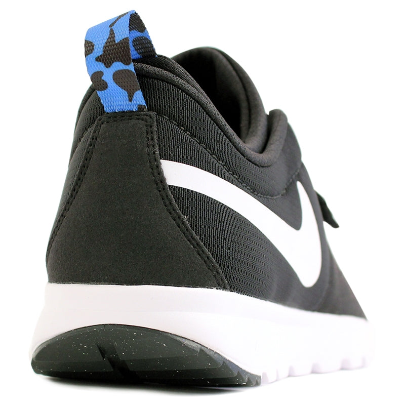 Nike SB Trainerendor SE Shoes in Black / White / Distinct Blue - Heel