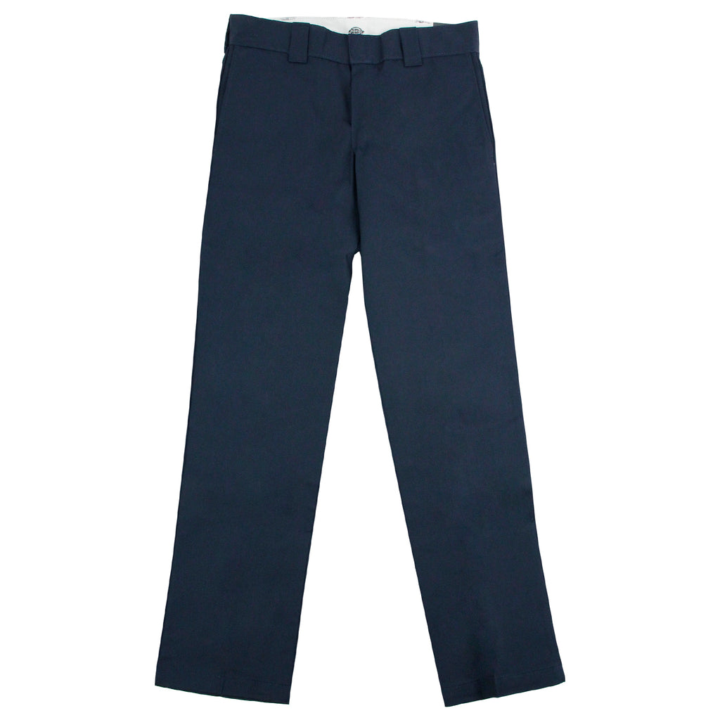 Dickies 873 Slim Straight Work Pant in Navy - Open