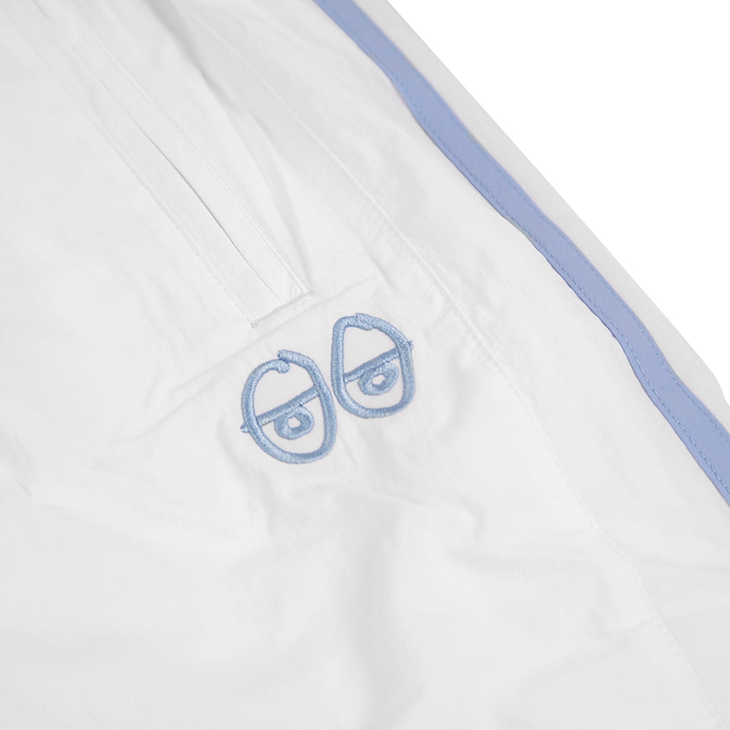 x Krooked Track Pants in White Clear Blue by Adidas