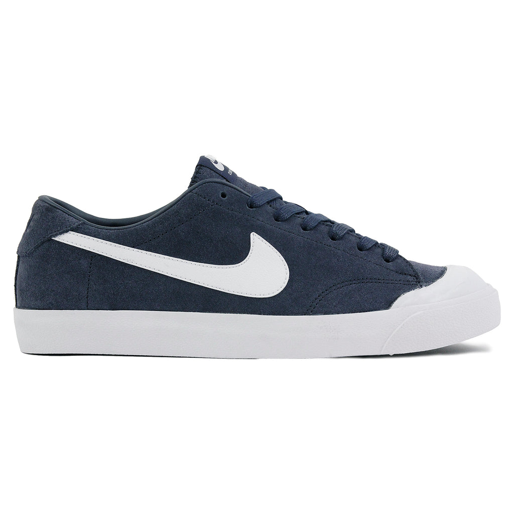 Nike SB Zoom All Court CK QS Shoes in Obsidian / White