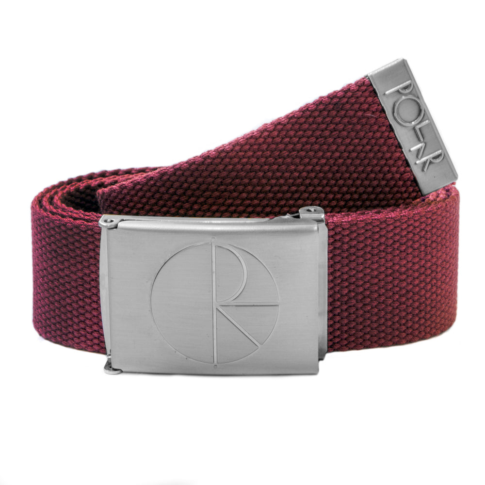Polar Skate Co Default Belt in Red Wine