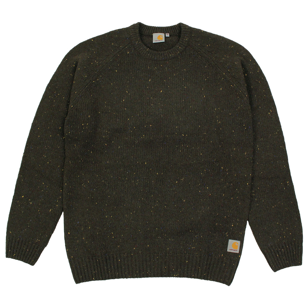 Carhartt Anglistic Sweater in Blackforest Heather