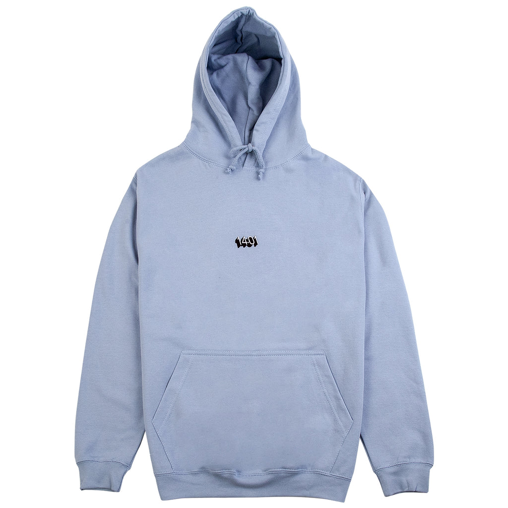 14:01 Skateboard Co Logo Hoodie in Sky Blue