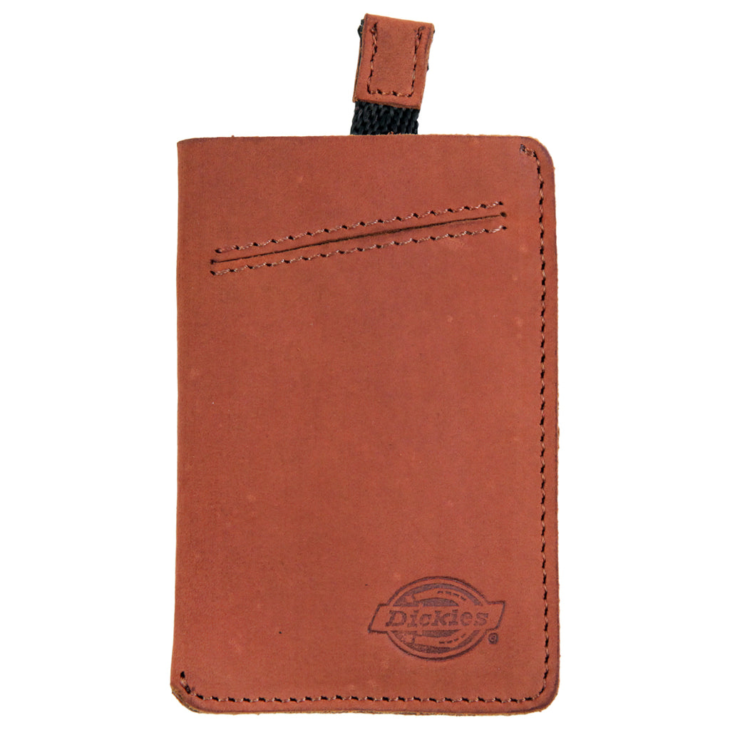 Dickies Larwill Card Wallet in Chestnut