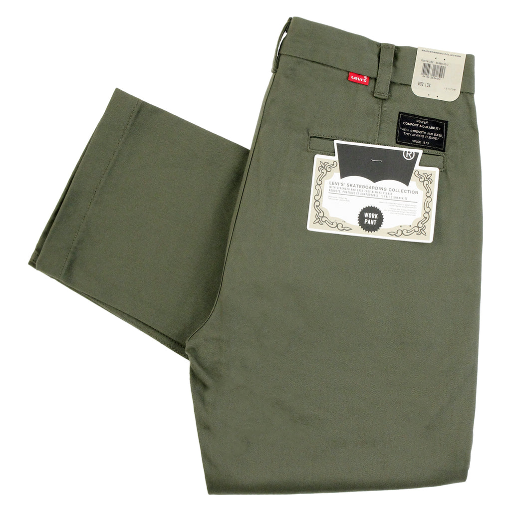 Levis Skateboarding Work Pant in Ivy Green